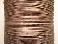 Нить полувощёная плетёная 0,8 мм кордовая ИТАЛИЯ
