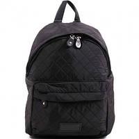 Ранец Рюкзак  школьный для подростка Wallaby Стеганый черный 17-536-6