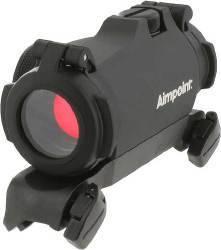 Прицел Aimpoint Micro H-2 2МОА в комплекте с оригинальным Blaser SM креплением, с защитными крышками