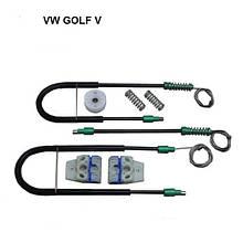 Ремкомплект стеклоподъемника Volkswagen Golf 5 пер. лев. дв. 1J4837461H1JM898461