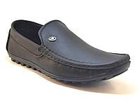 Мужская обувь больших размеров стильные мокасины из натуральной кожи Крейзи Хорс Rosso Avangard BS Crazy M4, фото 1