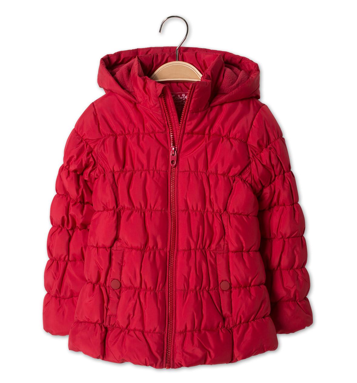 Демисезонная красная куртка для девочки 4 года C&A Германия Размер 104