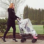 Как пользоваться дождевиком на коляску?