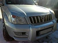 Реснички на фары Toyota Prado 120 2002-2009 г.в. (Тойота Прадо 120)