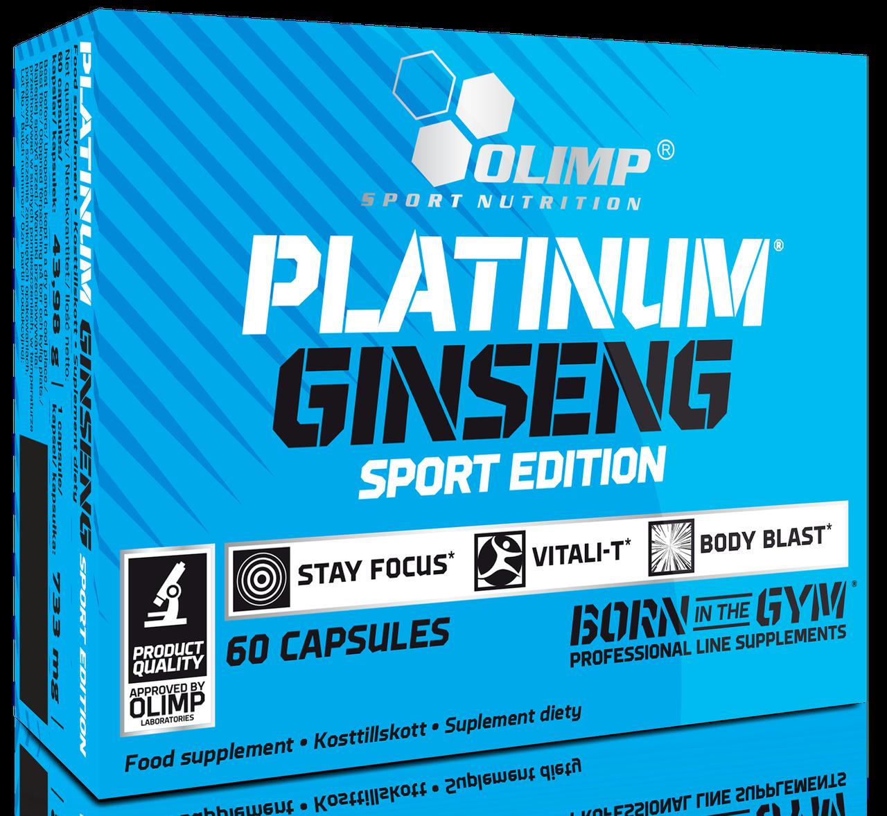 Olimp Platinum Ginseng 550 60 caps