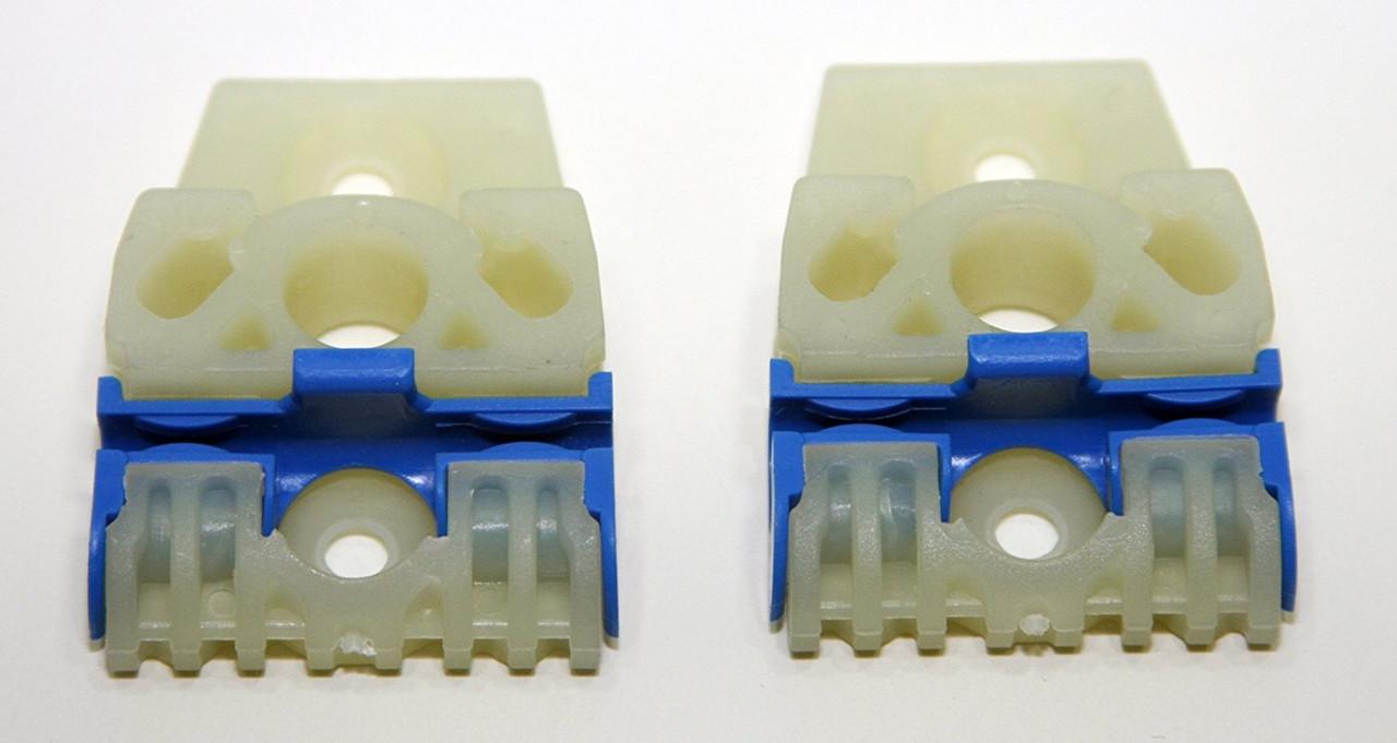 Направляющие каретки стеклоподъемника Volkswagen Passat B6  (Фольцваген Пассат Б6)