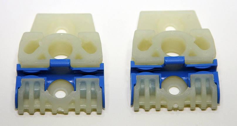 Направляющие каретки стеклоподъемника Volkswagen Passat B6  (Фольцваген Пассат Б6), фото 2