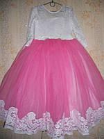 Праздничное платье для девочки 6-9 лет № 38