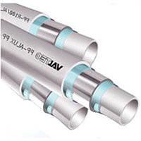 VALTEC ТРУБА PP-ALUX, арм. алюминием, PN 25, 20 MM (белый)