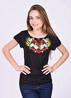 Женская футболка-вышиванка, размеры S, M, L, XL