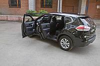 Накладки на внутренние пороги дверей Nissan X-trail 2015+