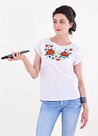Женская блуза вышиванка, размеры  L
