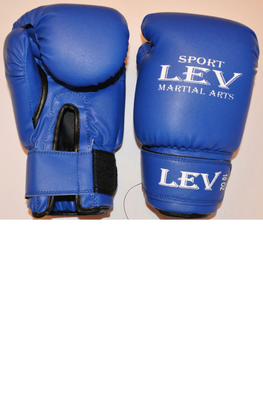 Боксерские перчатки ЛЕВ кожзам - Интернет-магазин Вуаля в Хмельницком
