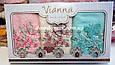 """Набір махрових рушників 30*50 Vianna 3D """"Метелик"""" 3 шт,Туреччина, фото 3"""