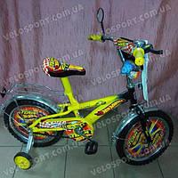 Детский велосипед Mustang Hotwheels 14 дюймов