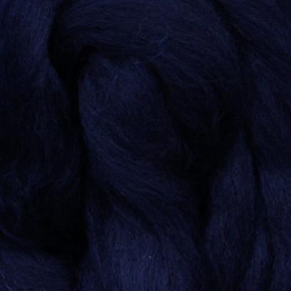 Шерсть мериноса 22 мк, темно-синяя