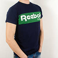 Футболка с логотипом, Reebok (Т. синий)