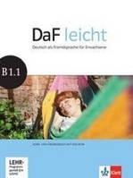 Jentges Sabine DaF leicht B1.1. Deutsch als Fremsprache f& 252;r Erwachsene. Kurs - und& 220;bungsbuch (+ DVD)