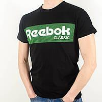 Футболка с логотипом, Reebok (Черный)