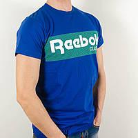 Футболка с логотипом, Reebok (Электрик)