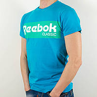 Футболка с логотипом, Reebok (Голубой)