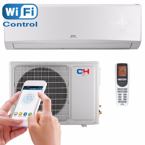 Инверторный кондиционер Cooper&Hunter CH-S12FTXE with Wi-Fi, фото 2