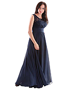 Платье вечернее Валентино синий