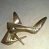 Туфлі зі шкіри пітона / Туфли из кожи питона 0559