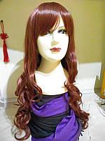 Парик рыжий длинные волосы