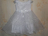 Праздничное платье для девочки 2-4 лет № 61