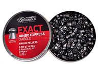 Пули пневматические JSB Diabolo Exact Jumbo Express, 500 шт/уп, 0,93 г, 5,52 мм