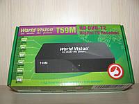 World Vision T59M цифровой эфирный DVB-T2 ресивер (тюнер Т2)