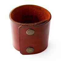 """Шкіряний браслет """"Plate"""" кожаный браслет на пряжке, під замовлення, різних кольорів, фото 1"""