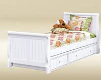 Односпальная кровать с ящиками - Карелия