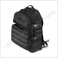 Тактический рюкзак 40 литров черный для военных, армии, туризма кордура