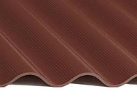 Шифер 8-ми волновой коричневый а/ц01-101-202-УФ КРАШЕНЫЙ (шт.)
