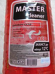 Жидкость для стекол Мaster cleaner Лесная ягода 4л -12C