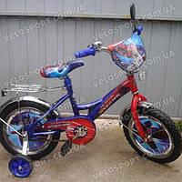 Детский велосипед Mustang Человек Паук 14 дюймов