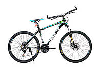 """Горный велосипед OSKAR 26"""" 1603 X6 черно-синий Алюминий Гарантия 12 мес."""