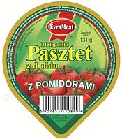 EvraMeat паштет с помидорами 131 г. Польша