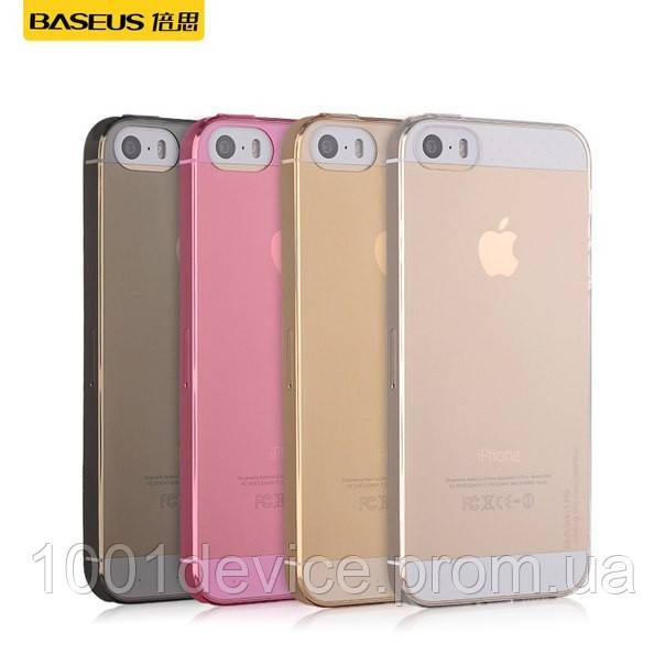"""Чехол-накладка для Apple iPhone 5/5S - Baseus Air Case - Интернет-магазин """"1001Device"""" в Одессе"""