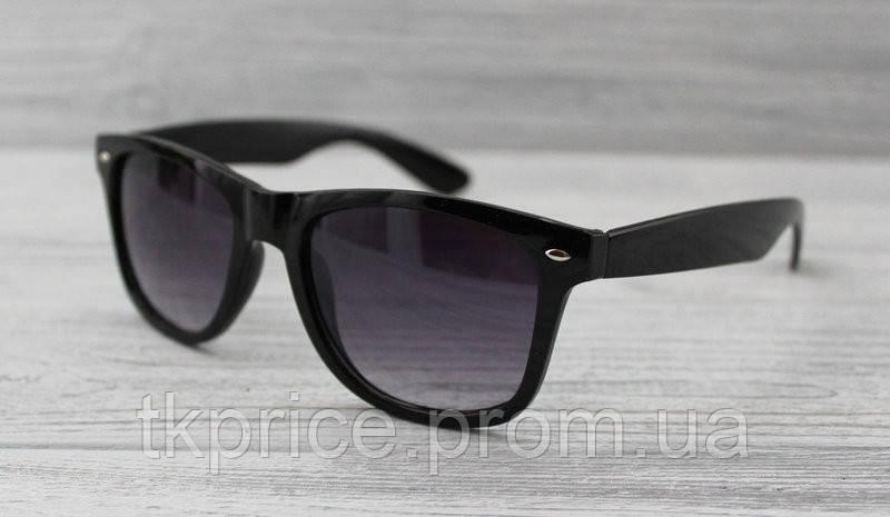 Солнцезащитные очки унисекс Wayfarer с флексами