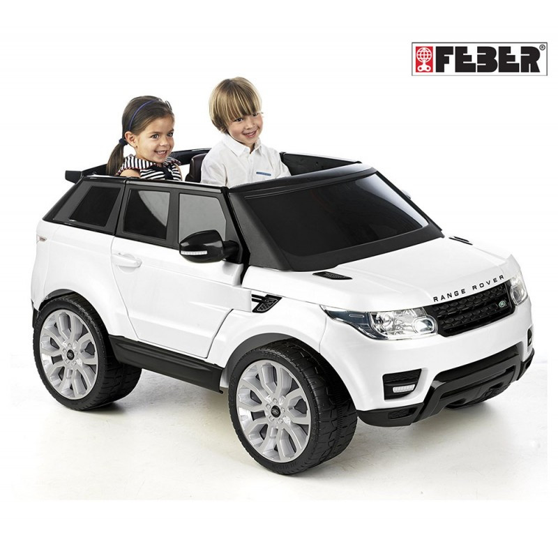 Детский автомобиль Range Rover Sport 12V Белый Feber  800008660