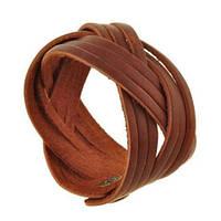 """Шкіряний браслет """"Network"""" кожаный браслет, плетеный браслет из кожи під замовлення, різних кольорів"""