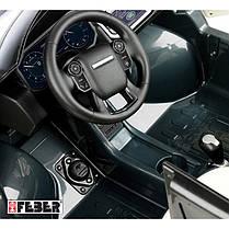 Дитячий автомобіль Range Rover Sport 12V Сірий Feber 800009250, фото 3