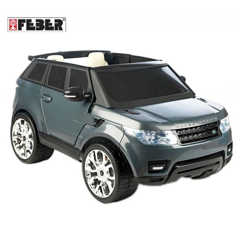 Дитячий автомобіль Range Rover Sport 12V Сірий Feber 800009250