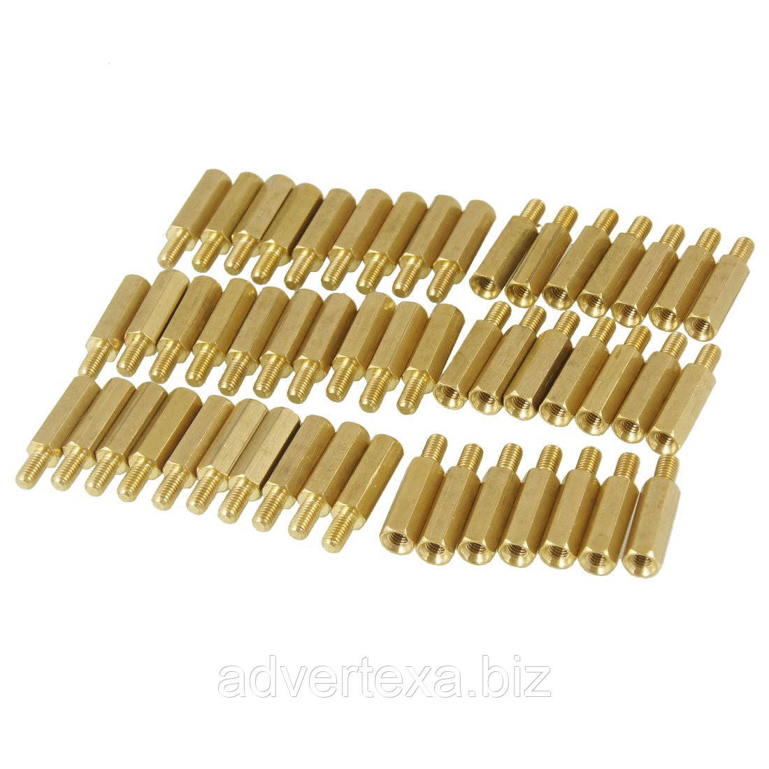 Стойка M3x25mm латунная для монтажа печатных плат pcb