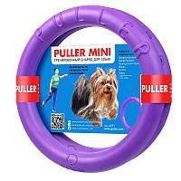 Collar PULLER Мini тренировочный снаряд для собак мелких и декоративных пород 18х2см, 2шт.