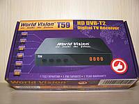 World Vision T59 цифровой эфирный DVB-T2 ресивер (тюнер Т2)