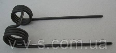 Зубец двойной пружинный 4131770245 на косилку Е-281, Е-302, Е-303